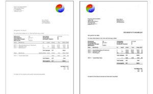 Rechnungen / Mahnungen mit eigenem LOGO